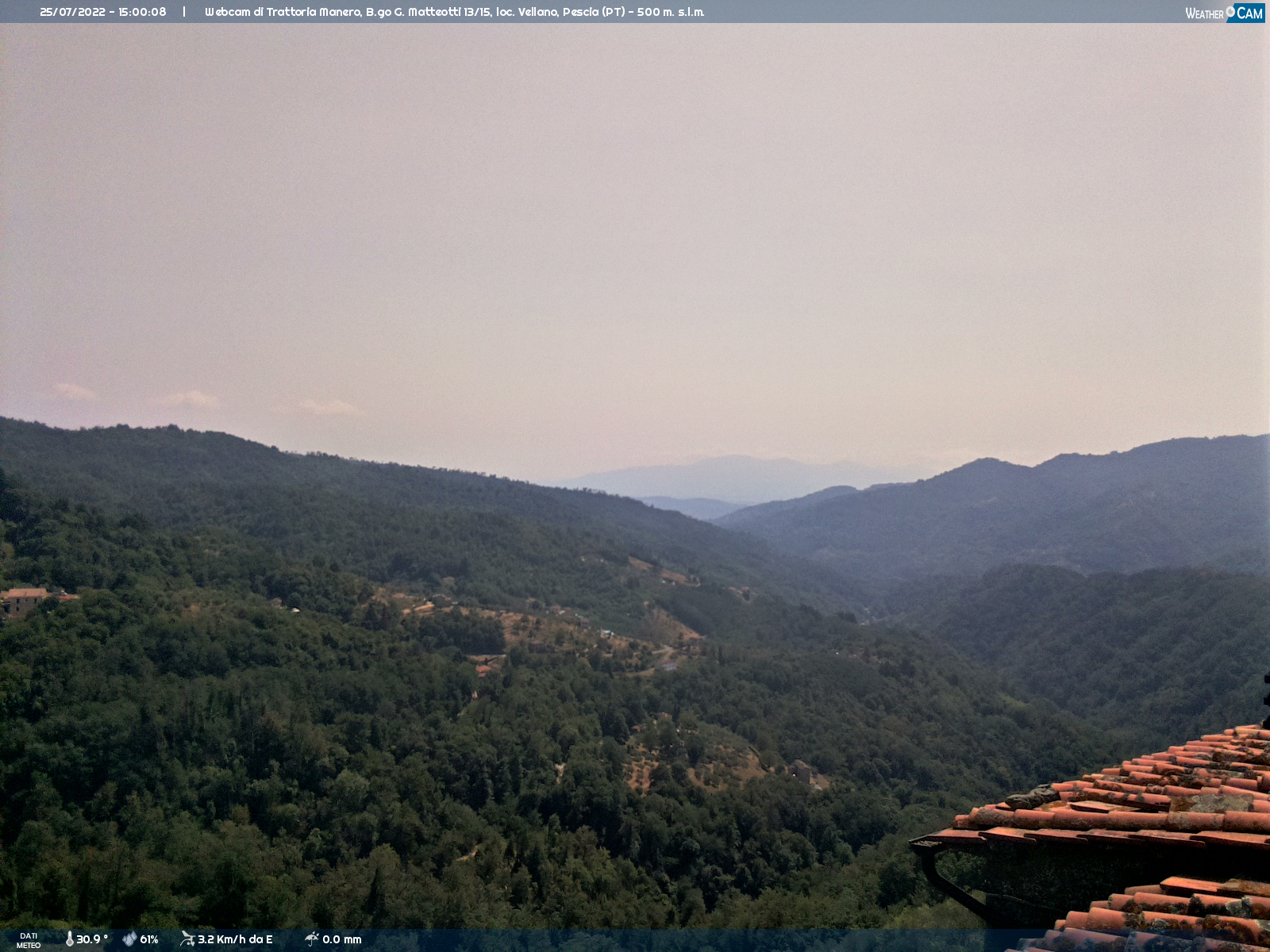 Webcam Vellano a cura di www.meteovellano.it
